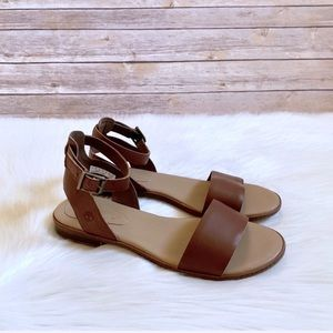 Timberland Cherrybrook Brown Leather Sandals